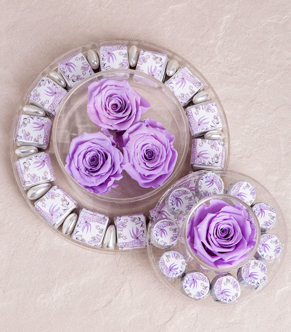 Lilac Endless Rose Chocolate Deluxe