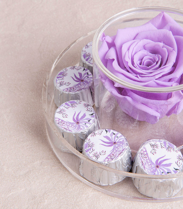 Lilac Endless Rose + Chocolate