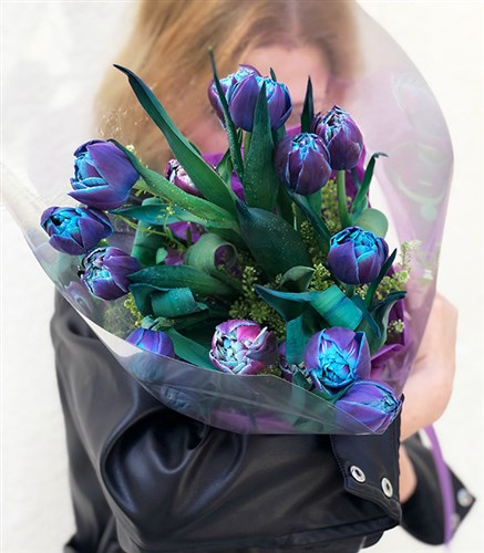 Galaxy Tulips Bouquet