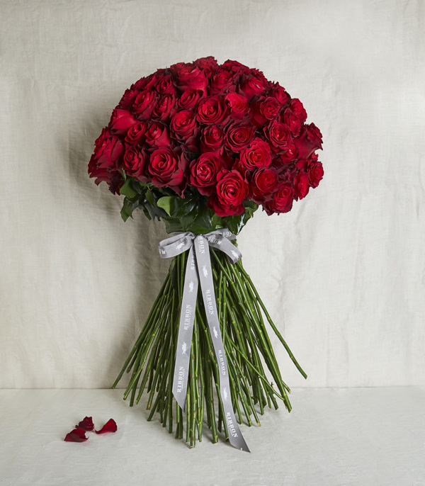 100 Bouquet of Red Roses