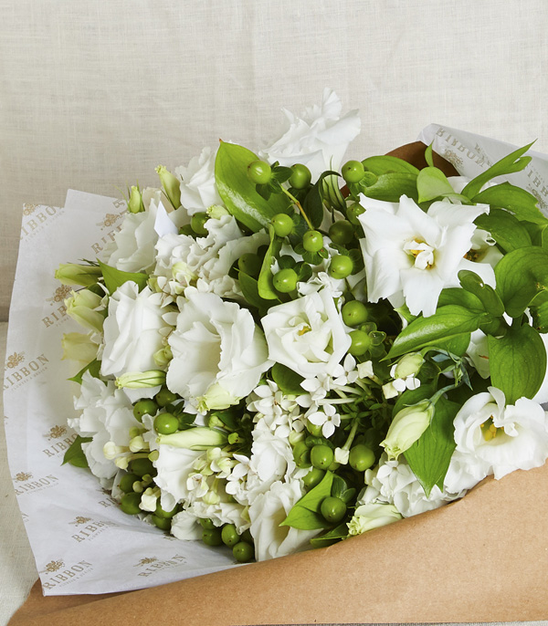 White Country Bouquet