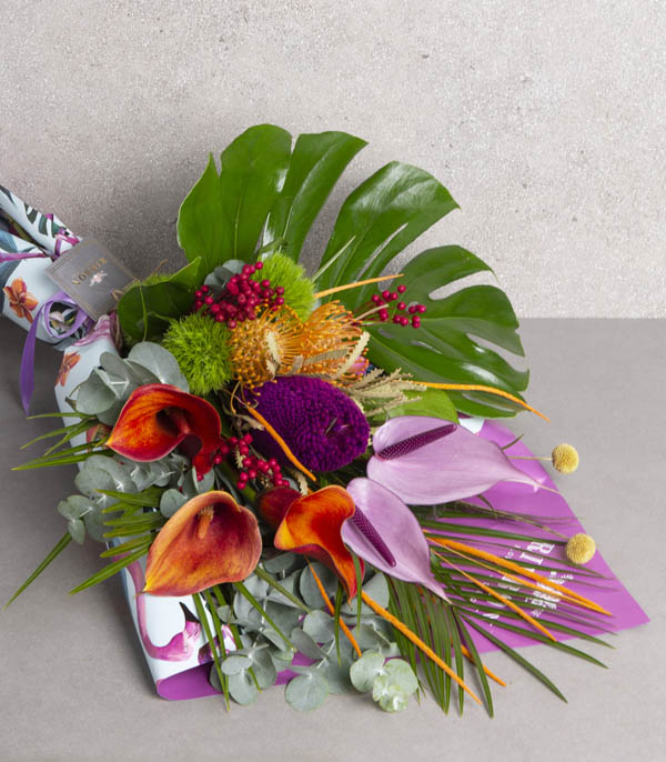 Tropical Flowers Bouquet