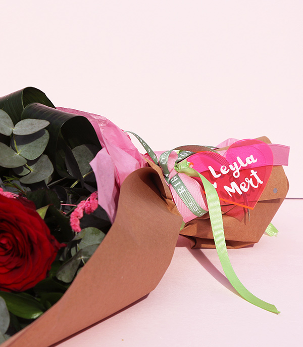 Personalized Valentine's Day Bouquet