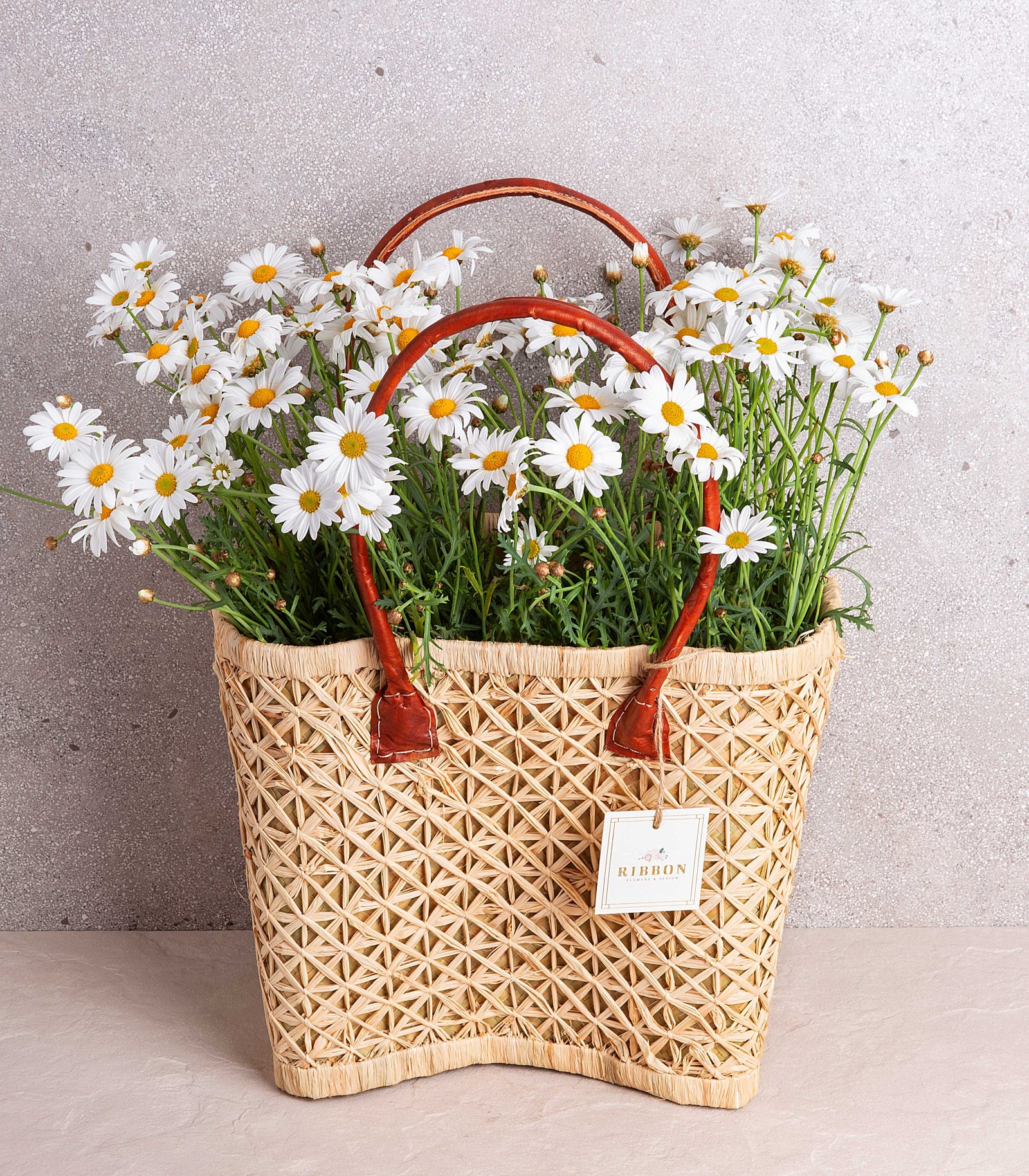 Daisy in basket