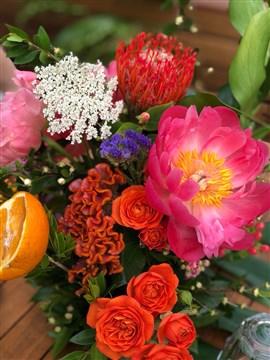 Tropikal çiçekler