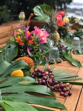 egzotik düğün çiçekleri