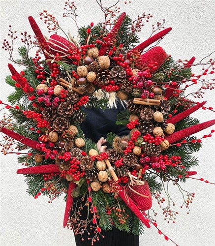 Biggest Christmas Door Wreath