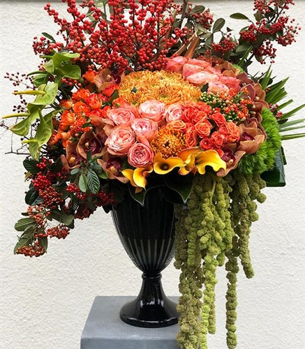 Grand Deluxe Orange Arrangement