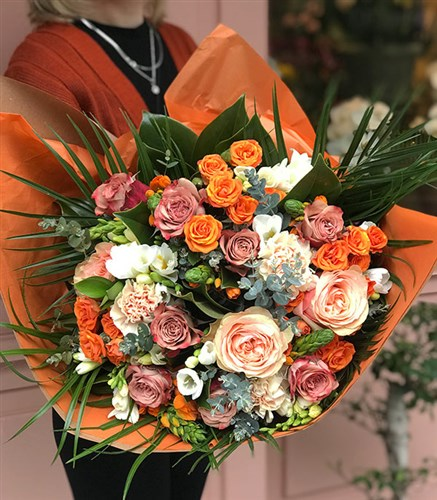Orange Deluxe Bouquet