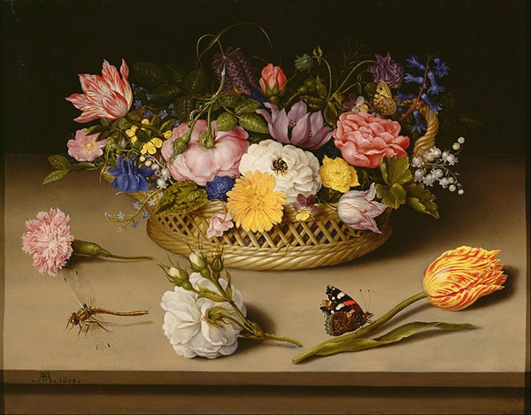 Ambrosius Bosschaert – Still Life of Flowers