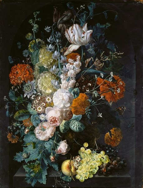 Margaretha Haverman – A Vase of Flowers